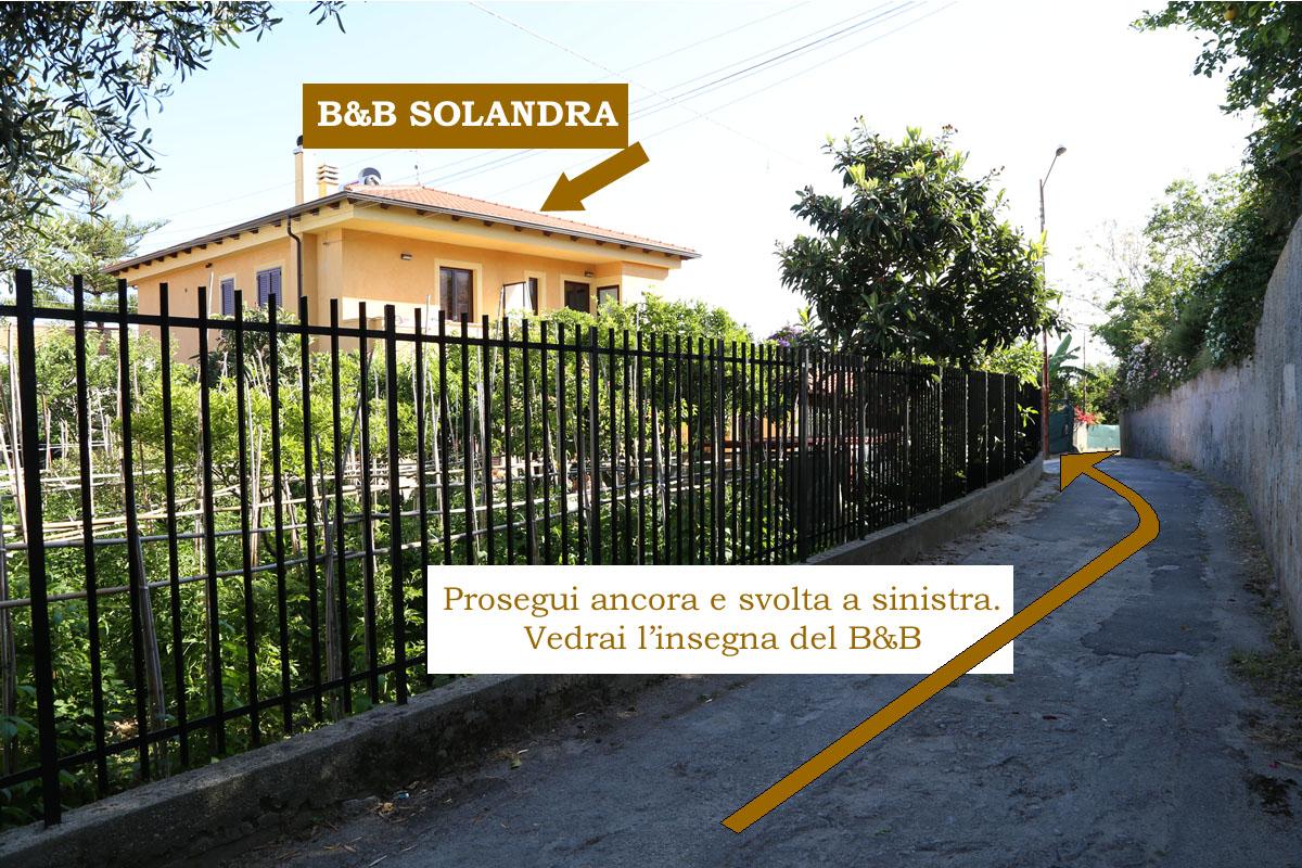 Contatti Solandra B&B Tropea